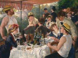 Pierre-Auguste Renoir, Luncheon of the Boating Party (1880-1881). Photo: Courtesy of the Phillips Collection, DC.