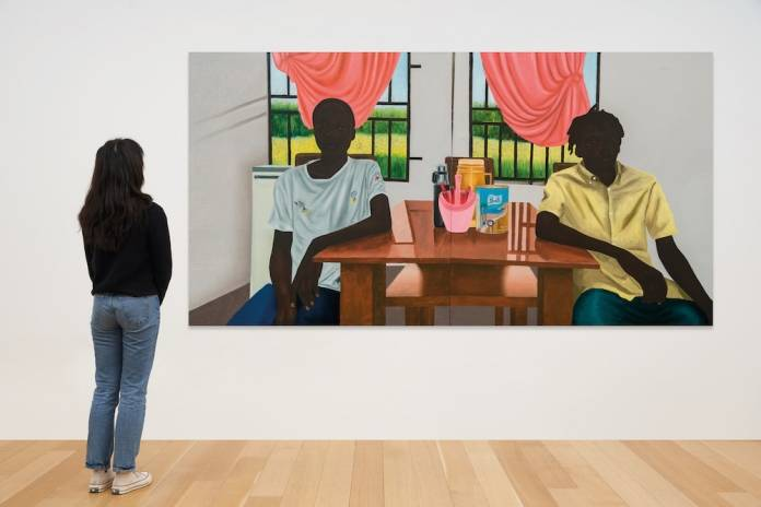 Eniwaye Oluwaseyi, The Breakfast (2020). Photo: Courtesy of the artist and Destinee Ross-Sutton 2020