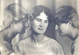 Triple Self-Portrait, solarised 1933. Photo: Helen Muspratt